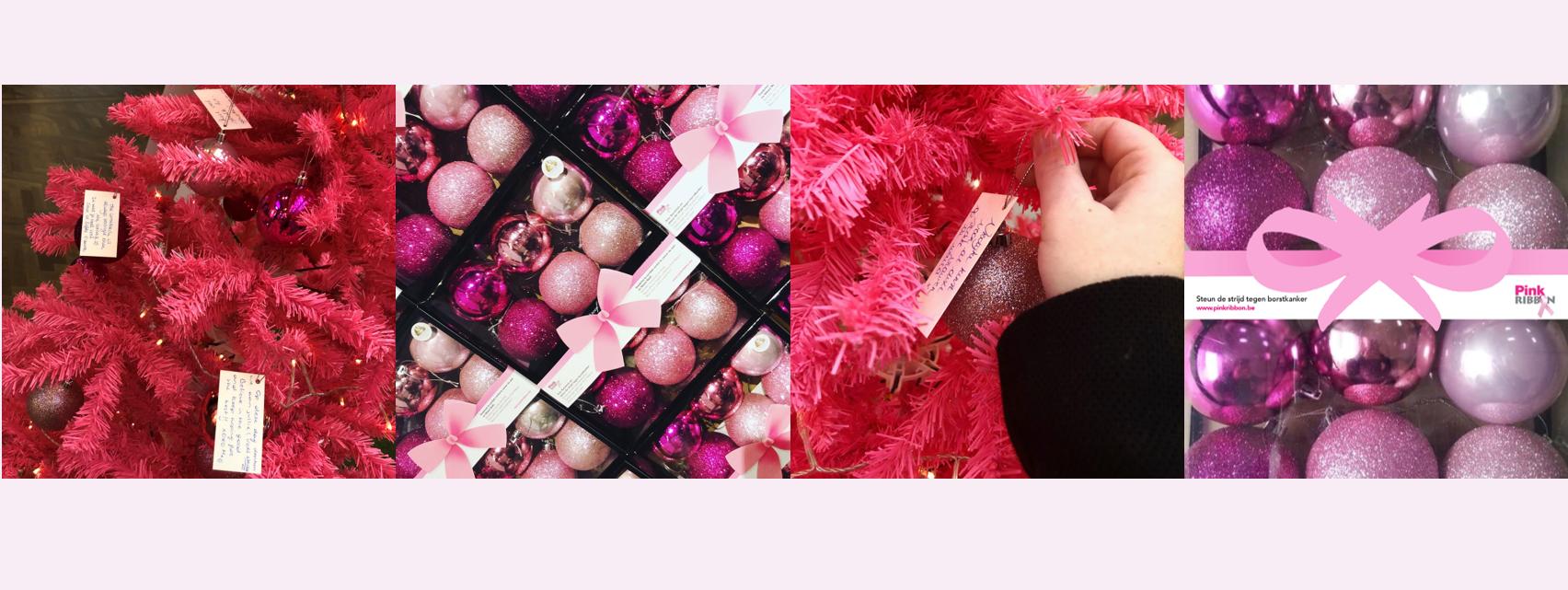 20190920 Banner set roze kerstballen fotos
