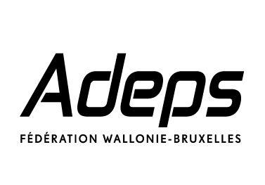 Logo Adeps type black FWB 1 100