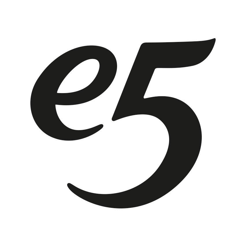 E5 logo zw web