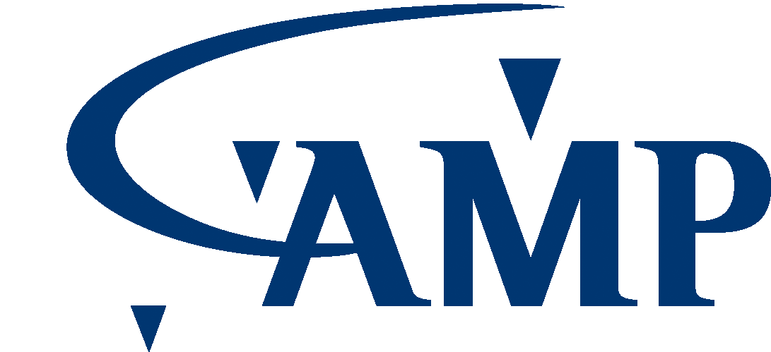 Logo AMP bleu PNG