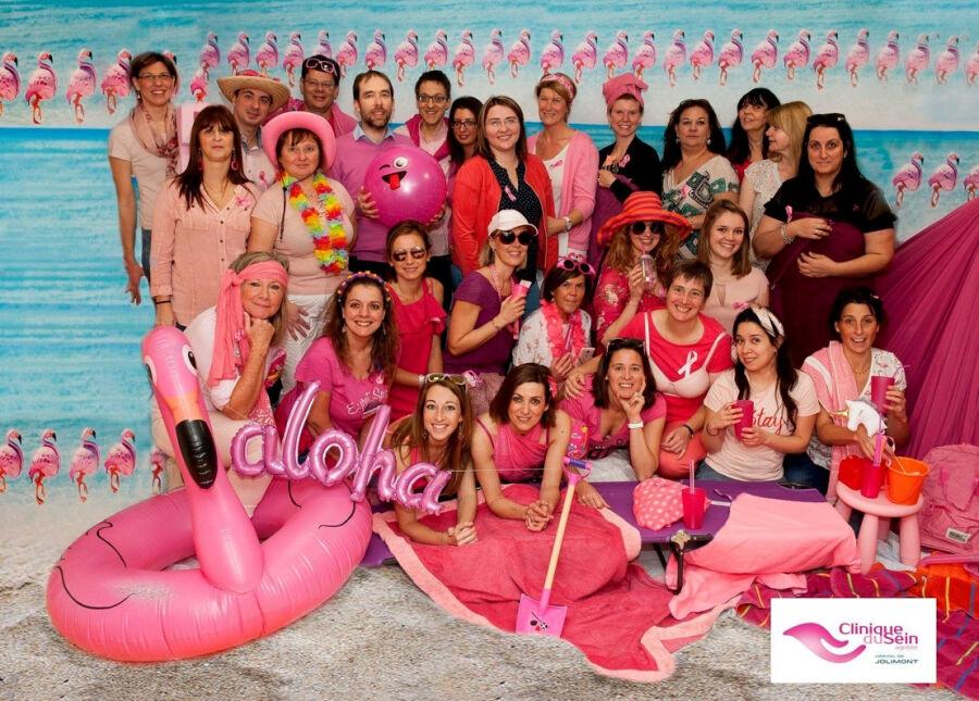 20181211 Borstkliniek Wint De Pink Monday Wedstrijd Van Pink Ribbon