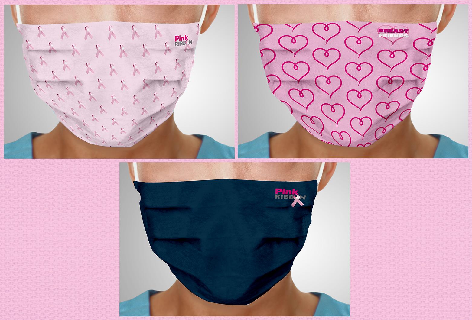20210106 Pink Ribbon Mondmaskers Mailing fotos