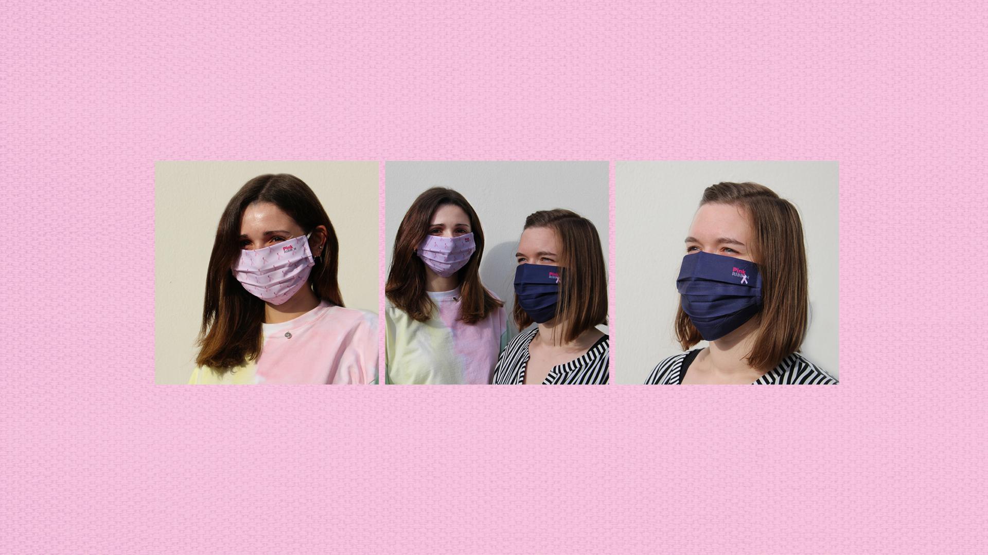 20210106 Pink Ribbon Mondmaskers Website header