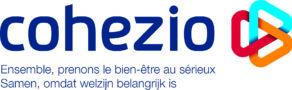 COHEZIO logo Baseline FR NL Q