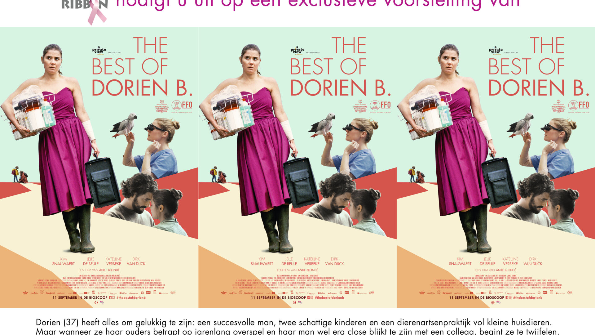 20190806 Pink Ribbon Uitnodiging The Best Of Dorien B
