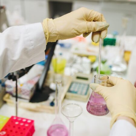 Scientist in lab 3735706